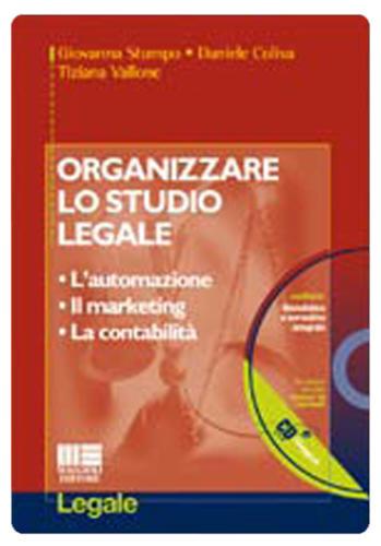 ORGANIZZARE LO STUDIO LEGALE