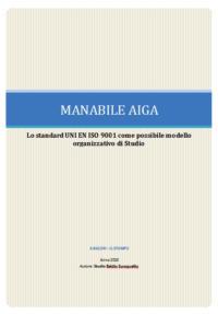 STANDARD UNI EN ISO 9001 – MANABILE AIGA